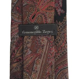 Ermenegildo Zegna Paisley Tie
